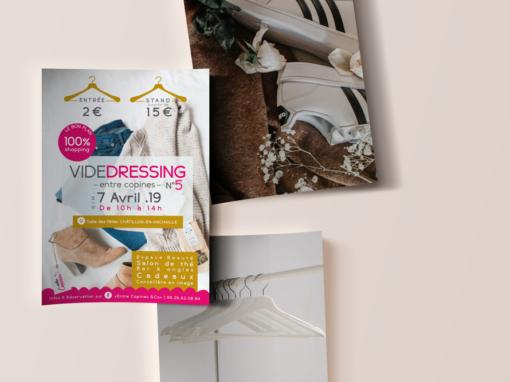 Vide-Dressing Entre Copines | Flyer